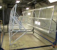 Powder coating - oven size